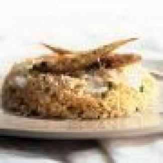 Staartvis Met Knoflook En Courgettes