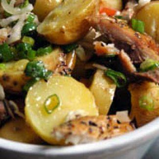 Aardappel Makreel Salade
