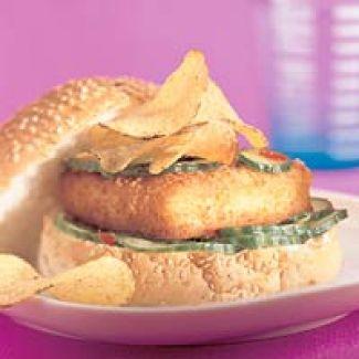 Fishburger And Chips