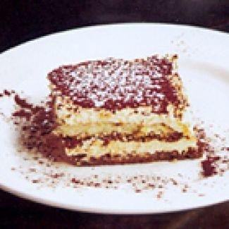 Luchtige Tiramisu Van Restaurant Golosi