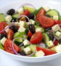 Griekse Salade Met Feta