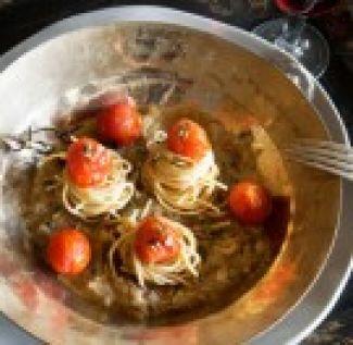Volkoren Spaghetti Met Ansjovissaus