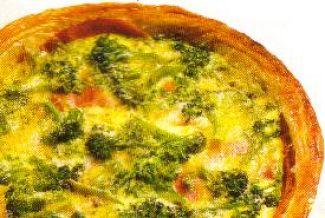 Broccoli Met Gogonzola Taart