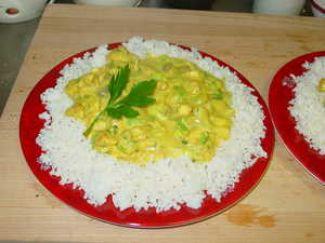 Rijst Kipkerrie