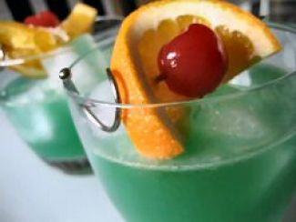 Exotische Antiliaanse Drankje Met Blue Curacao