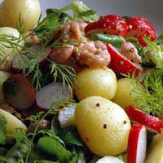 Salade Van Nieuwe Aardappeltjes