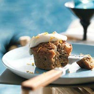 Noten-fruitcake Met Brandysaus