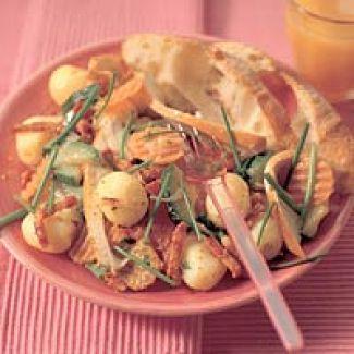 Lauwwarme Aardappelmaaltijdsalade