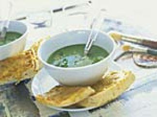 Courgettesoep Met Gorgonzola
