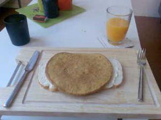 Omelet Met Groene Pesto