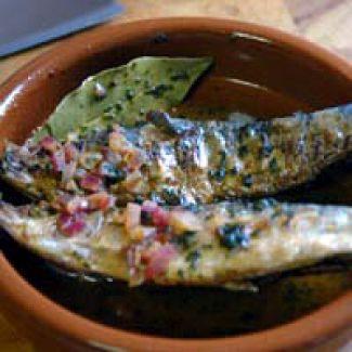 Tapas - Gemarineerde Sardines