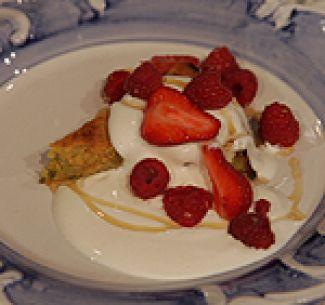 Griekse Yoghurt-Pistachecake
