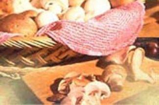 Toast Met Reuzenpaddenstoel