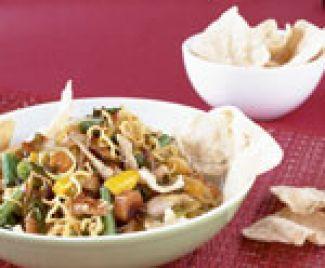 Mie-salade Met Kip En Korianderdressing