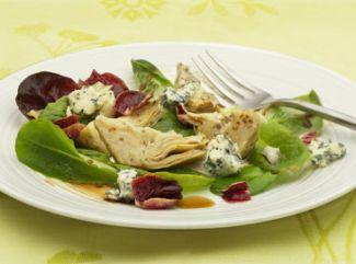 Salade Van Blauwaderkaas En Artisjokken