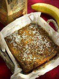 KOKOSBROOD/CAKE MET BANAAN