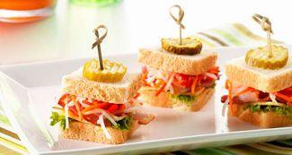 Mini Clubsandwiches