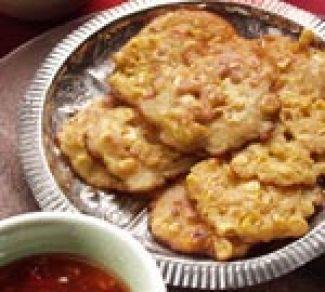 Indiase Maïskoekjes