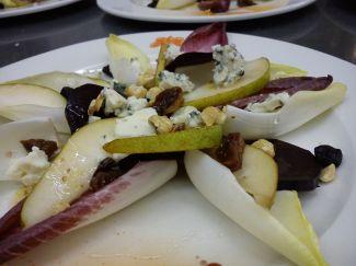Winterse Salade Met Peer En Witlof
