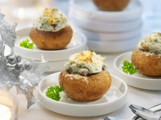 Champignons  Met Kruiden Roomkaas (vegetarisch)