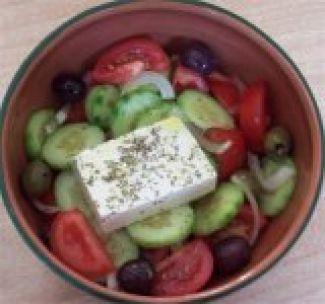 Choriatiki Salata  (Griekse Salade)