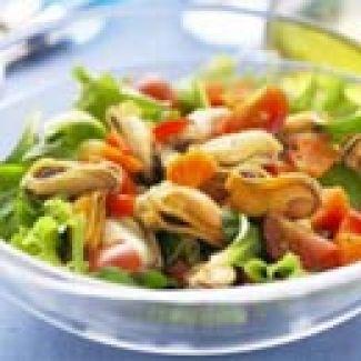 Lunchsalade Met Mosselen
