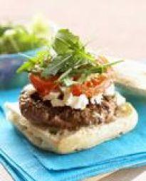 Ciabatta-burger