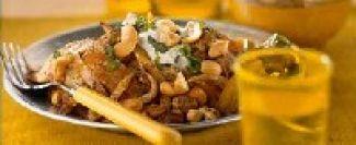 Vleesreepjes Met Cashewnoten En Rozijnen