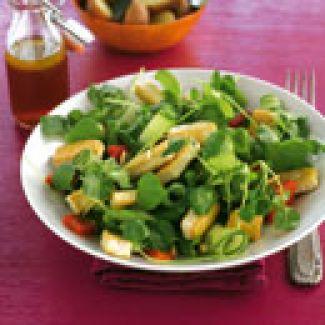Salade Van Tofu En Waterkers