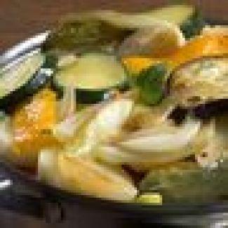 Courgettes Met Uien En Rozijnen