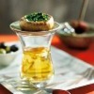 Champignons Met Salsa Verde