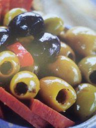 Olijven In Knoflook Met Oregano