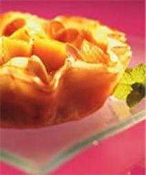 Brickdeegtaartjes Met Mango