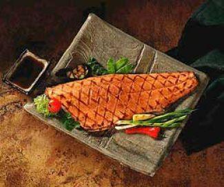 Heerlijke Oosterse Vis Voor Op De Barbecue