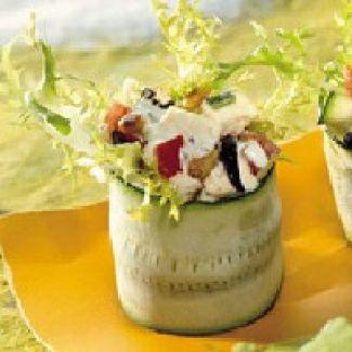 Groentesalade Met Courgette