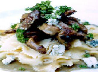 Vlees Met Gorgonzolasaus