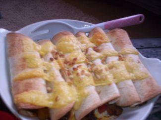 Tortilla's Met Gehakt