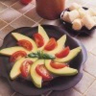 Avocadesalade Met Tomaten