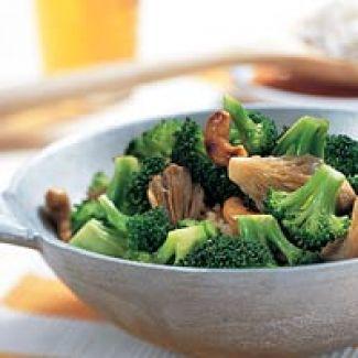 Roergebakken Broccoli En Oesterzwammen