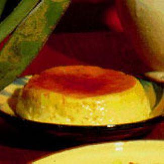 Crème Caramel Uit De Magnetron