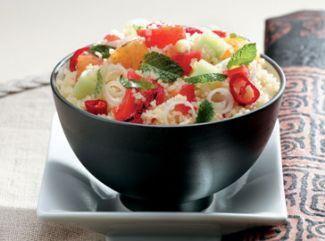 Couscous Met Gegrilde Paprika