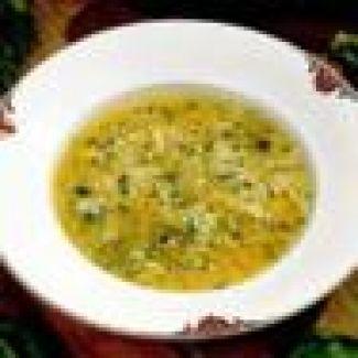 Courgettesoep Met Pecorino Kaas