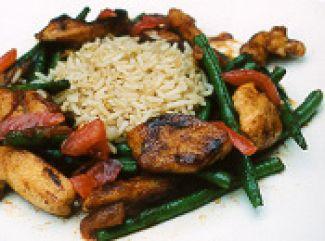 Lekker En Snel - Rijst Met Vlees En Sperzieboontjes