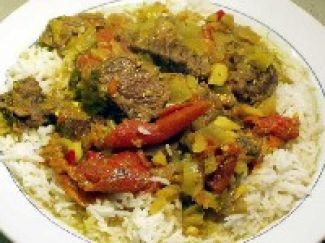 Rijst Met Curry