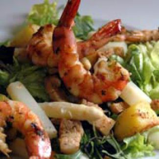 Salade Van Gamba's & Asperges