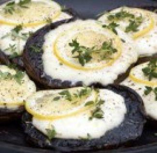 Portobello's Met Mozzarella
