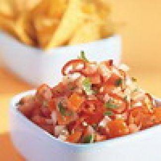 Pittige Tomatensalsa