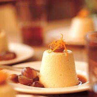 Camembertmousse Met Karamelsaus Van Rode Port