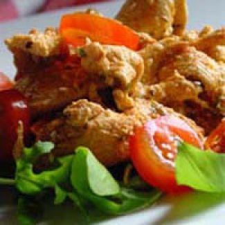 Griekse Kippensalade
