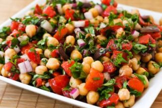 Frisse Garbanzo Salade